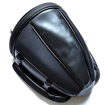 8b47bf69658 Bolsa de asiento trasero de la motocicleta Bolsas de cola impermeable para  el equipaje Casco Alforja: Amazon.es: Coche y moto