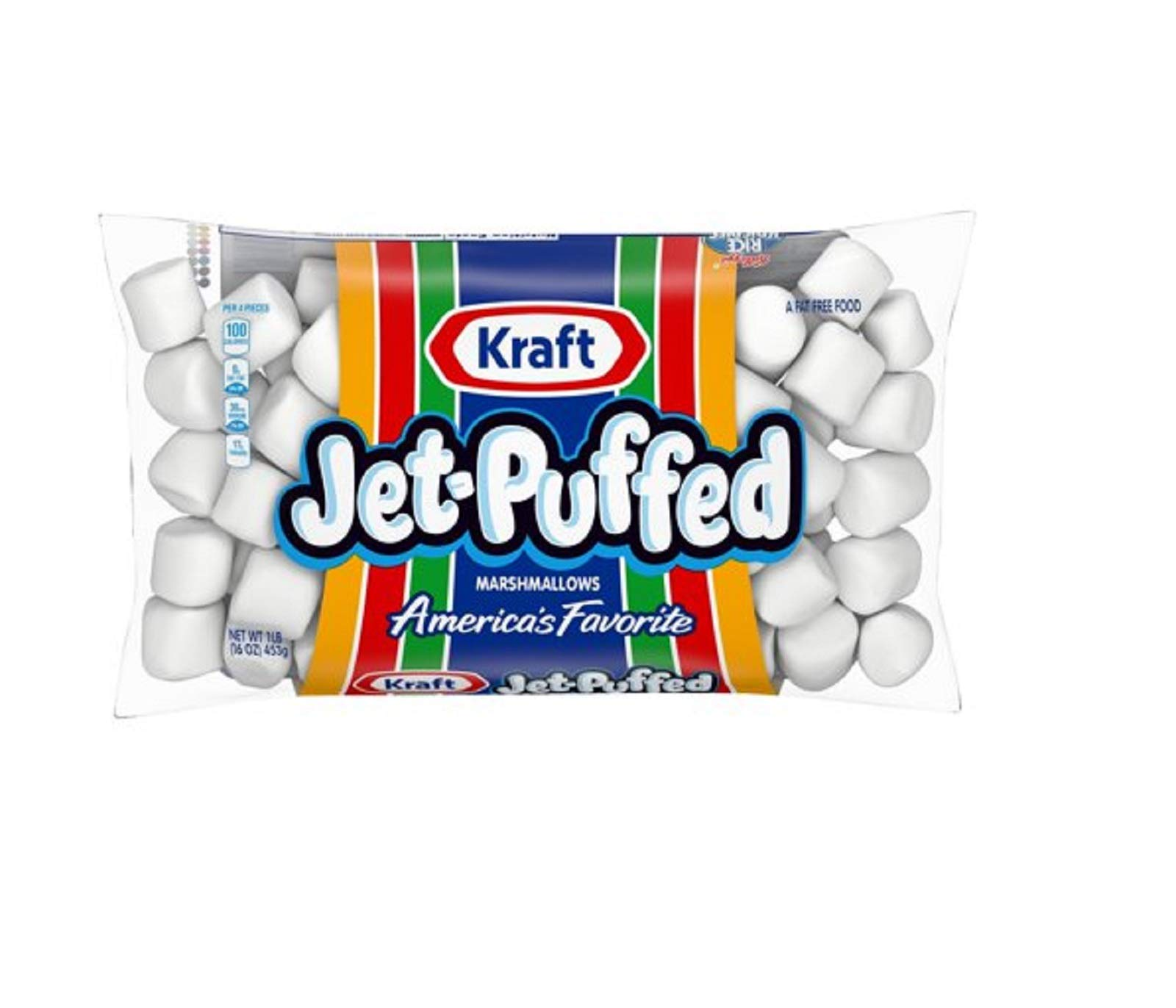 Kraft Jet-Puffed Miniature Marshmallows - 12 Pack by Kraft