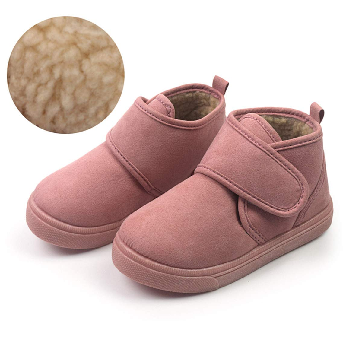 Toddler Kids Boots Girls Boys Shoes Hiking Winter Snow Booties