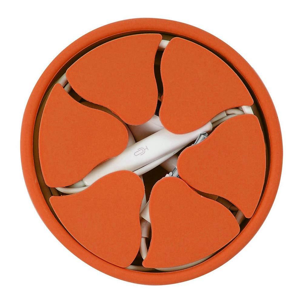 TAOtTAO - Soporte de Silicona para Auriculares, Naranja, 10 cm ...