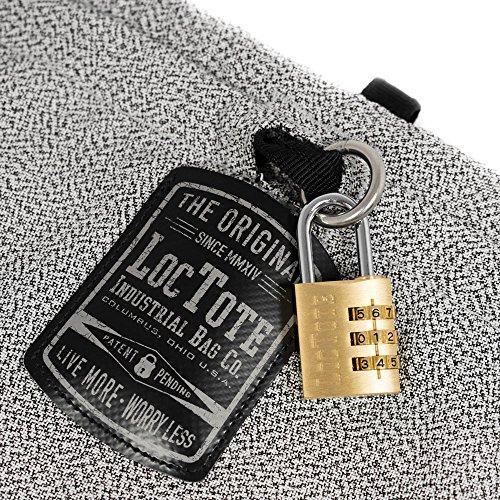 LOCTOTE Flak Sack SPORT - Lightweight Theft-Resistant Drawstring Backpack | Lockable | Slash-Resistant | Portable Safe by LOCTOTE (Image #2)