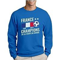 France - Champions Coupe du Monde de Football 2018 Sweatshirt Homme