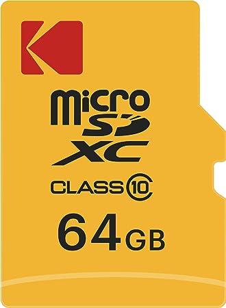 Kodak Class 10 - Tarjeta de Memoria microSD (64 GB ...