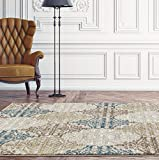 6046 Panal Beige 7'10×10'6 Area Rug Carpet Large New Review