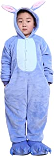Pigiama Animali Pigiami Interi Coniglio Camicie da notte Con Cappuccio Sleepwear Adorabile Costumi Bambini Unisex 3-8 Anni Di velluto Rosa