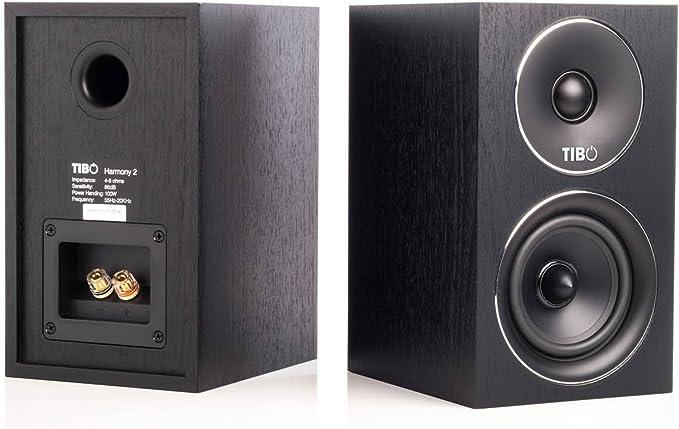 Tibo Harmony 2 Altavoz para Amplificador, Color Negro: Amazon.es: Electrónica