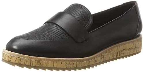ALDO CALIXTA Mocasines Mujer, Negro (97 Black Leather), 39 EU (6