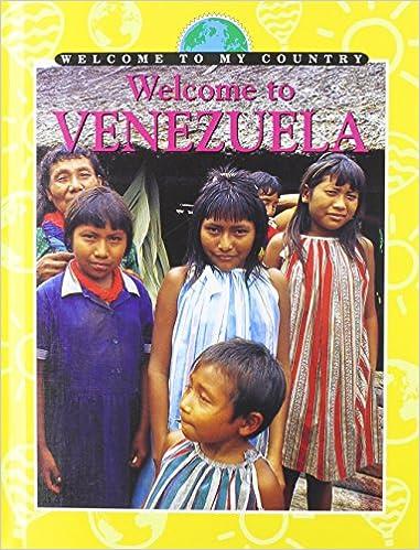Welcome to Venezuela (Welcome to My Country): Amazon.es: Yumi Ng, Various: Libros en idiomas extranjeros