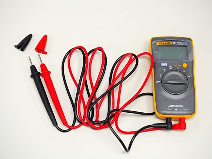 This best multimeter which is designed for basic electrical use is small and light and can fit in your hands.