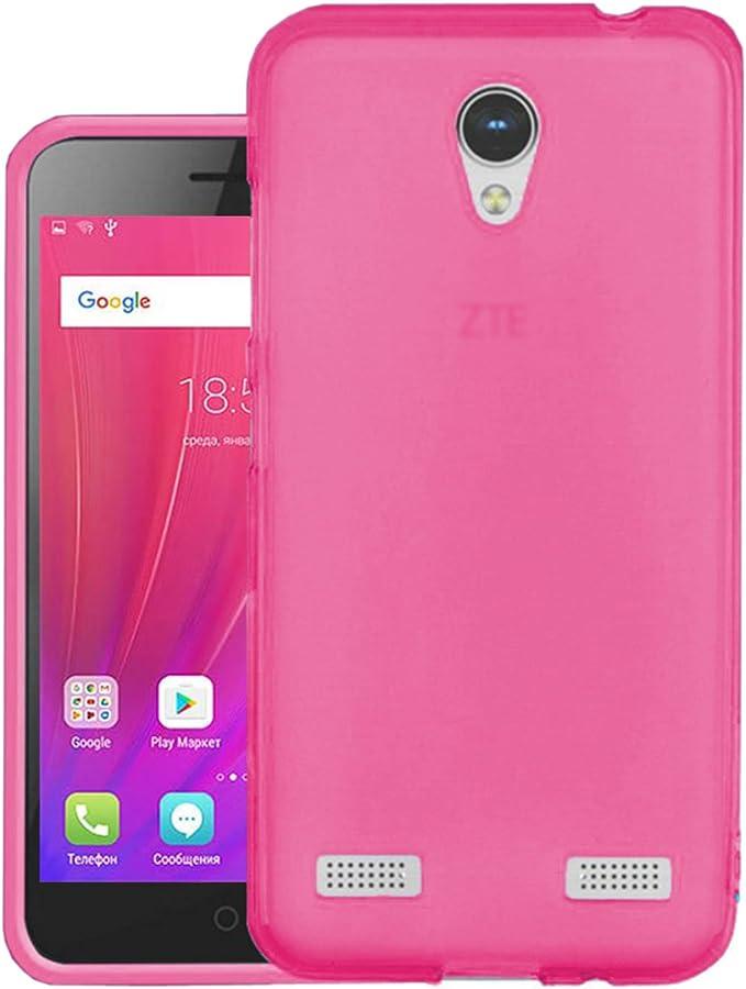 TBOC® Funda de Gel TPU Rosa para ZTE Blade A520 (5.0 Pulgadas) de Silicona Ultrafina y Flexible: Amazon.es: Electrónica