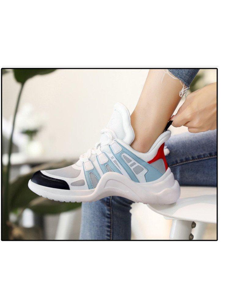 SBL Schuhe der Frauen der Herbstfrauen Damensportschuhe Super Beschuht Damensportschuhe Herbstfrauen Breathable weiße Schuhe der Art und Weise,Blau,37 - 646f82