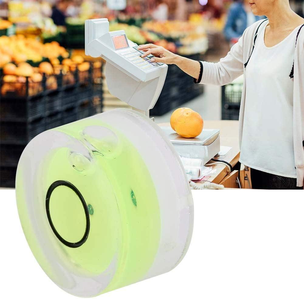 Mini bolla rotonda a livello di spirito 5pcs 5mm Strumento di misurazione diametro 15mm Mini bolla a livello rotondo per bilancia