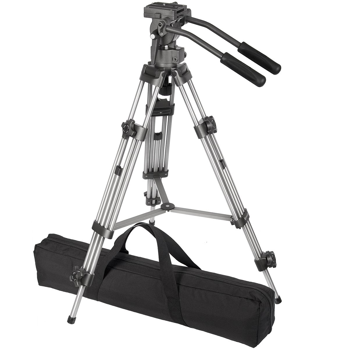 Ravelli AVTP Professional 75mm Video Camera Tripod with Fluid Drag Head by Ravelli