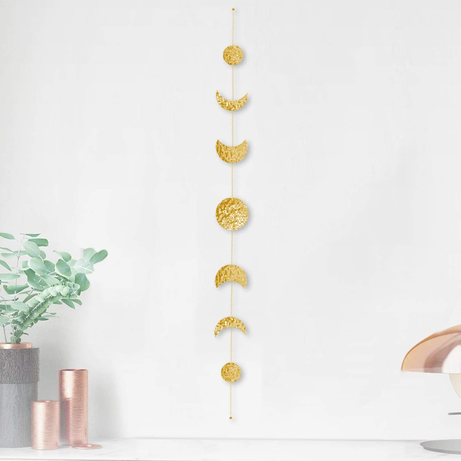 Shop Moon Phase Wall Hanging Boho Wall Decor Moon Phase Garland from Amazon on Openhaus