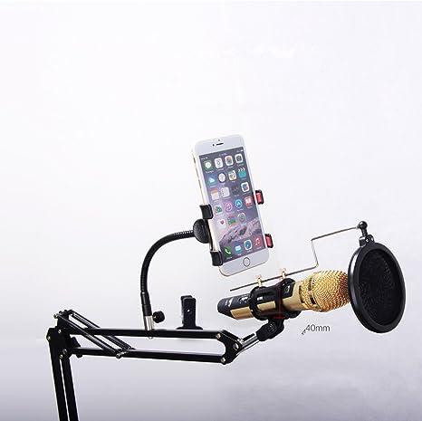 REMAX CK100 Soporte de micrófono para estudio de grabación móvil y ...