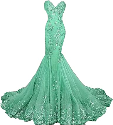 Emmani Womens Long Train Double Shoulder Beading Formal Special Evening Dresses