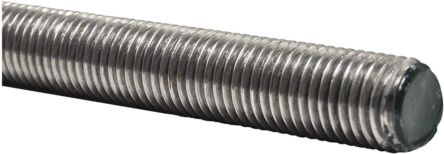 Testa barra 1000 mm per acciaio inox A2 DIN976