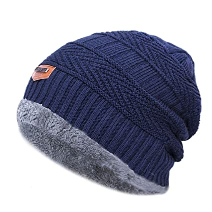 b8e1fc9183b XPIAO 2018 Winter Hats for Men Beanies Knitted Solid Cute Hat Girls Autumn  Female Beanie Caps Warmer Bonnet Ladies Casual Cap  Amazon.in  Home    Kitchen