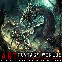 Fantasy Worlds. Art & Illustration (Digital Artworks by CHARRO + Photoshop Tutorial)