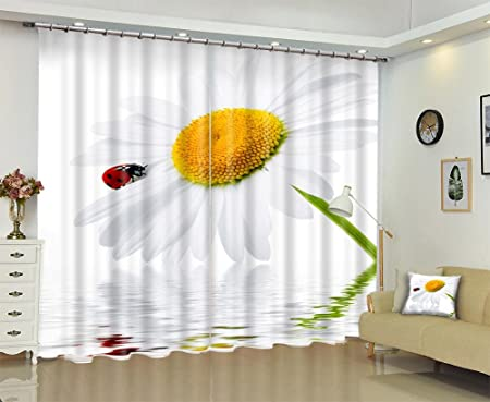 3D Blackout Solid Thermal Window CurtainsChildrens Room Insulated Panel CurtainLiving Bedroom