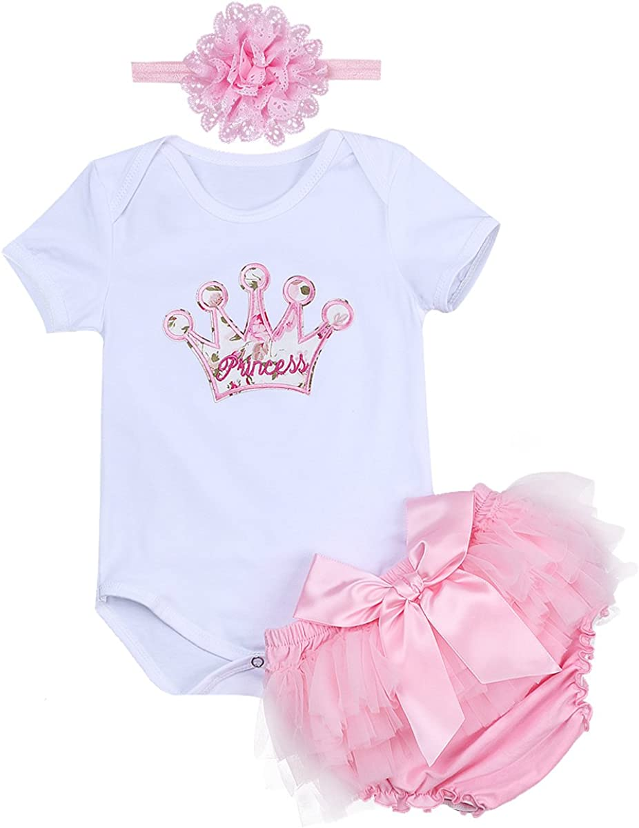 Baby Birthday Party Romper Shirts Infant Girls Boys Cake Smash Jumpsuit Outfits