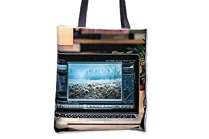 Bolsas de bolso de mano para ordenador portátil, escritorio ...