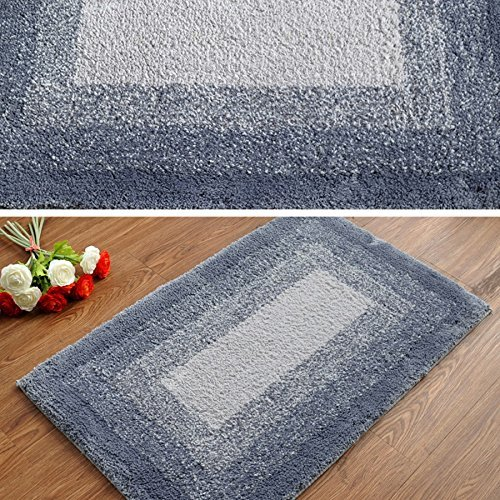 DIDIDD Super soft grey rug shaggy rug / comfortable and durable antibacterial 5080cm,4060Cm by DIDIDD (Image #4)