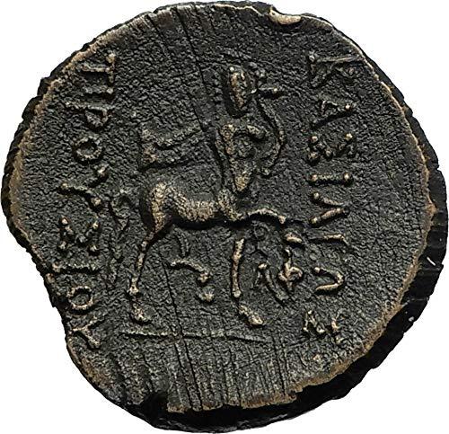 185 GR Prusias II Bithynian Kingdom 185BC Ancient Greek coin Good