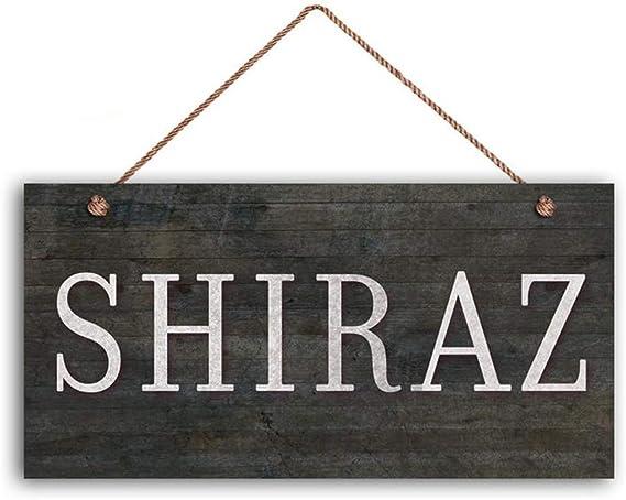 YILMEN Shiraz Wine Sign