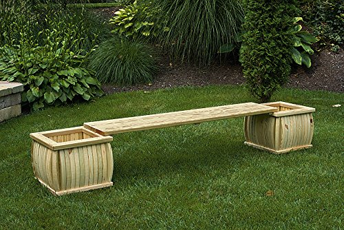 Furniture Barn Pressure Treated Pine 2 Curved Square Plan...