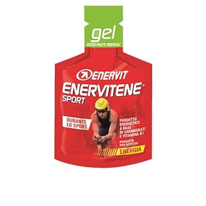 Gel Enervitene Enervit Deporte Tropical Fruit Flavour Complemento Alimenticio 1 sobre 25 ml