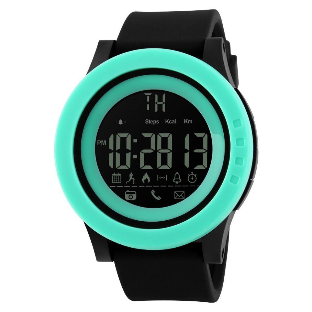 Reloj Inteligente Deporte Fitness Tracker, Btruely Herren SKMEI Smartwatch Android Bluetooth SmartWatch con Cámara/Podómetro/ Monitor de Sueño/Notificación ...