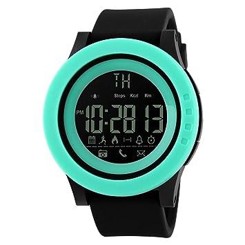 Reloj Inteligente Deporte Fitness Tracker, Btruely Herren SKMEI Smartwatch Android Bluetooth SmartWatch con Cámara/
