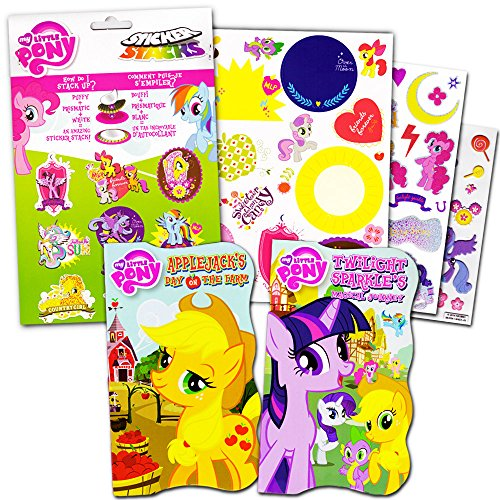 My Little Pony Board Books Set For Kids Toddlers -- Pack of