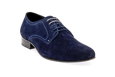 Dillinger Boots, Azul (Azul), 42