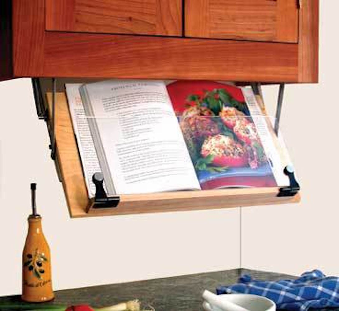 Wonderful Amazon.com: Under Cabinet Mounted Cookbook Holder   Wood   Made In The USA:  Cookbook Stands: Kitchen U0026 Dining
