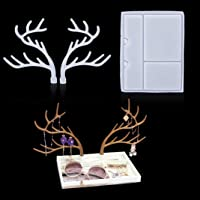 JuanYa Lotus Shape Epoxy Resin Casting Moulds Candle Holder Mold Tray Jewelry Storage Plate Box Ashtray Silicone Resin Mold DIY Crafts Casting Mould Tools Home Decor