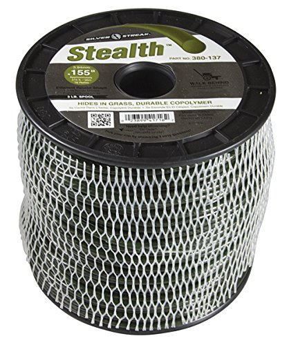 Silver Streak Stealth Trimmer Line.155 3 lb. Spool, ea, 1