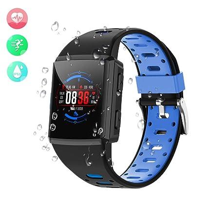 Amazon.com: Anmino M3 - Reloj inteligente con Bluetooth y ...
