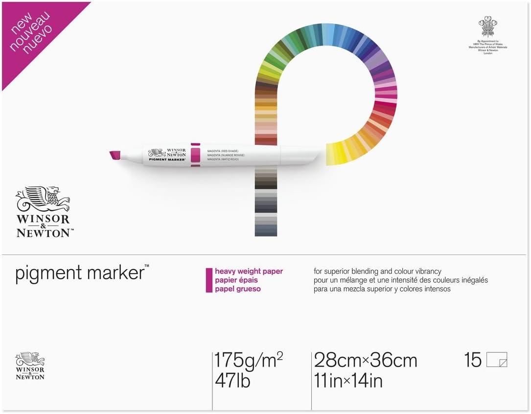 Winsor & Newton Pigment Marker Heavy Weight Pad, 11