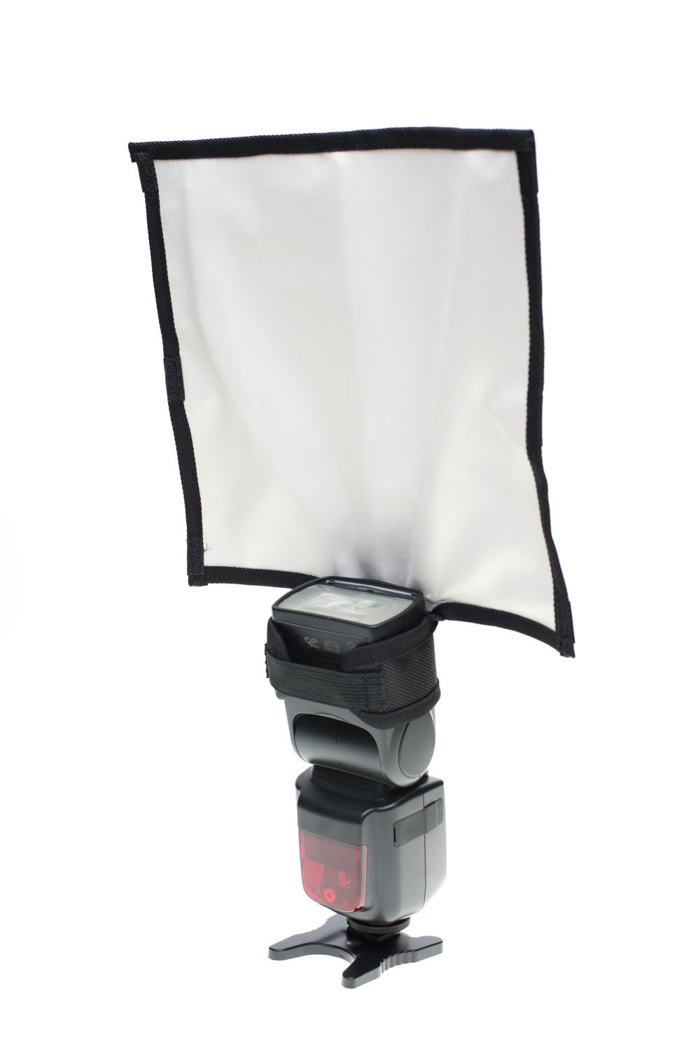 Fovitec - 1x Photography Speedlight Reflector Bounce Card - [Universal Fitment][Lightweight][Easy Set-Up][Travel Friendly]