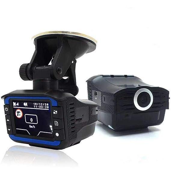 D Dash CAM HD 720P, 2 en 1 Anti láser Detector de Radar de Coche Cámara HD DVR Grabador 140 Tablero de Tablero Gran Angular Grabador de Video de la cámara ...
