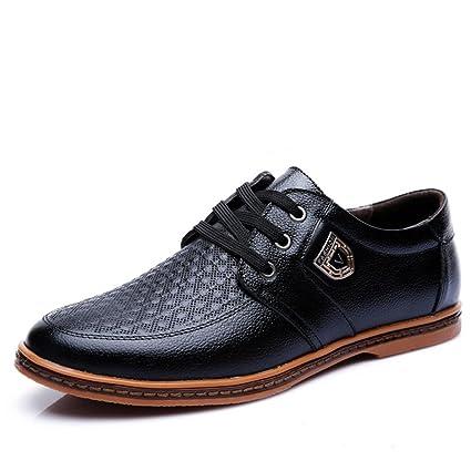 2018 Los Hombres El nuevo Los 2018 Zapatos de cuero Moda Talla grande Zapatos 3a18b0