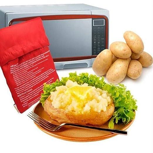 Patata microondas horno microondas Kochtasche bolsas de patatas ...