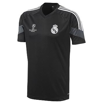 Camiseta Real Madrid Entreno Champions 2014-15  Amazon.es  Deportes ... 27f6bc24bcda1