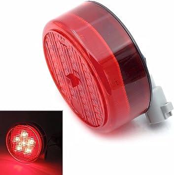 Pair LED Tail Light Rear Lamp Replacement For Kawasaki Teryx Teryx4 2012-2016 black