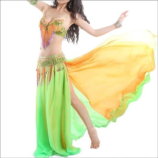 Disfraz de Danza del Vientre Belly Dance Costume Set Mujeres Sexy ...