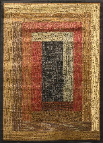 Home Dynamix Royalty – Quality Geometric Contemporary Modern Area Rug 7'8 x 10'4, Multi-colored - 104 Rug