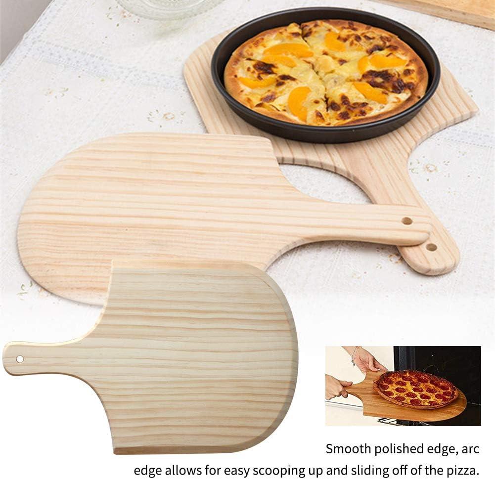 20,3 cm 6SHINE Pelle /à pizza en bois avec poign/ée 20 cm Voir image Pas de z/éro