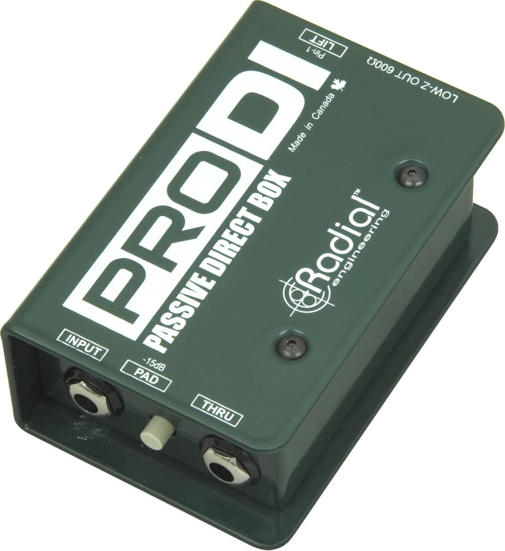 Radial ProDI - Caja directa pasiva: Amazon.es: Instrumentos musicales